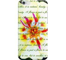 Moss Rose Portulaca iPhone Case/Skin