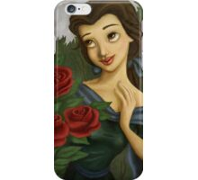Sweet rose beauty and the beast iPhone Case/Skin