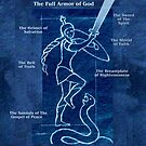 Full Armor of God - Warrior Girl 4 by Patricia Howitt