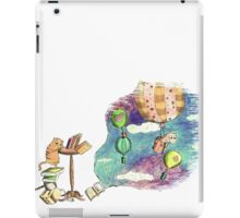 Dreaming with books iPad Case/Skin