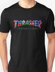 thrasher color block logo Unisex T-Shirt