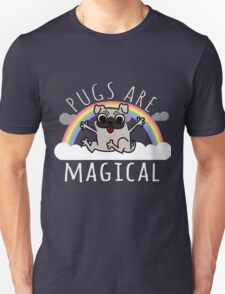 Pugs are Magical Unisex T-Shirt