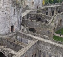 Top of Conwy Castle Sticker