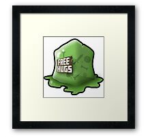 Don't Hug The Cubes! Framed Print