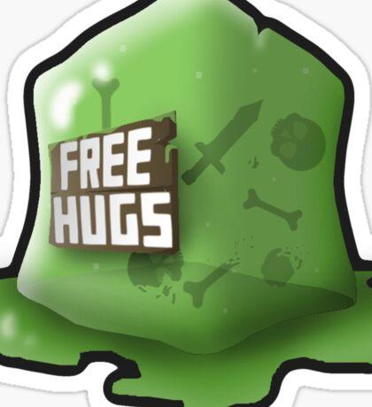 Don't Hug The Cubes! Sticker