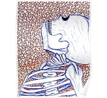 Sketchy Skeleton Poster