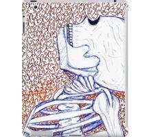 Sketchy Skeleton iPad Case/Skin