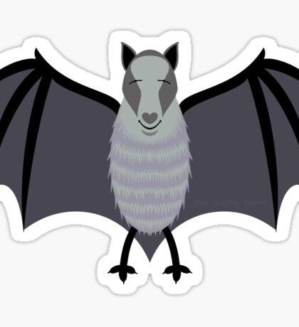 BLIND AS A BAT Sticker