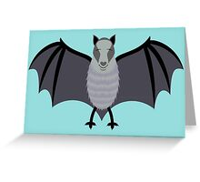 BLIND AS A BAT Greeting Card