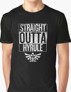 Straight Outta Hyrule | The Legend of Zelda Graphic T-Shirt