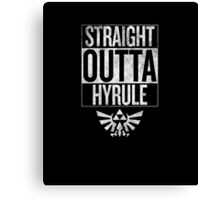 Straight Outta Hyrule | The Legend of Zelda Canvas Print