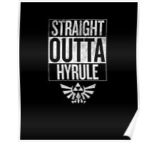 Straight Outta Hyrule   The Legend of Zelda Poster