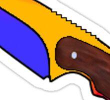 CS Gut Knife Marble Fade Sticker