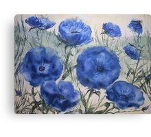 Azure Breeze Canvas Print