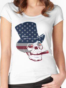 U.S. Blues - Grateful Dead Women's Fitted Scoop T-Shirt