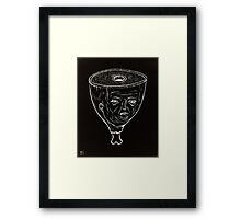 ham head Framed Print