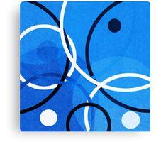 Random Blue Canvas Print