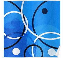 Random Blue Poster