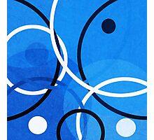 Random Blue Photographic Print