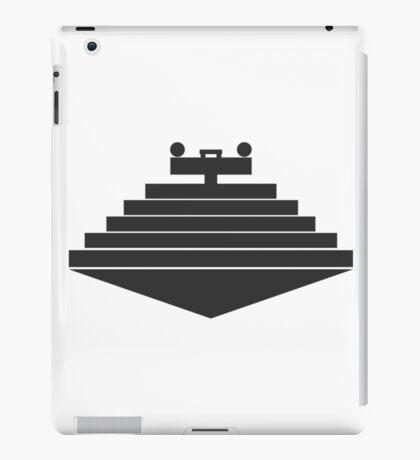 Minimal star destroyer iPad Case/Skin