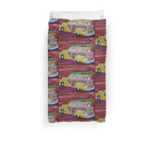 woodie wagon  Duvet Cover