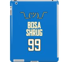 Bosa Shrug - San Diego Chargers iPad Case/Skin