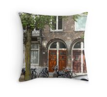 Peace and quiet. Throw Pillow