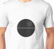 Minimal Deathstar Unisex T-Shirt