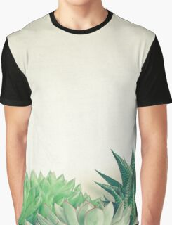 Succulent Forest Graphic T-Shirt