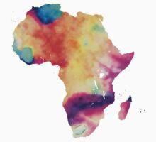 Africa map Kids Tee
