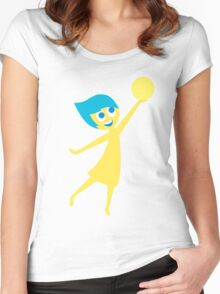 Joy Women's Fitted Scoop T-Shirt