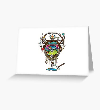 Oblivion Greeting Card