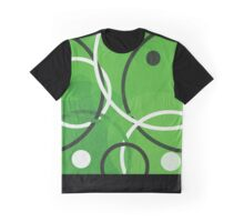 Random Green Graphic T-Shirt