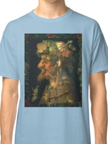 Vintage famous art - Giuseppe Arcimboldi - Autumn, From A Series Depicting The Four Seasons  Classic T-Shirt
