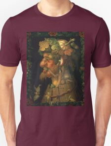 Vintage famous art - Giuseppe Arcimboldi - Autumn, From A Series Depicting The Four Seasons  Unisex T-Shirt