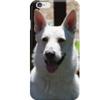 Dog With Flowers iPhone Case/Skin