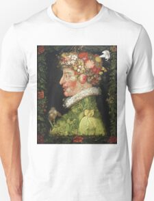 Vintage famous art - Giuseppe Arcimboldi - Spring, From A Series Depicting The Four Seasons  Unisex T-Shirt