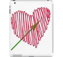 Heart  unique and  retro  iPad Case/Skin