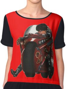 Kaneda on his bike Chiffon Top
