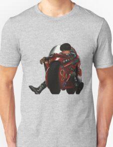 Kaneda on his bike Unisex T-Shirt