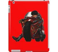 Kaneda on his bike iPad Case/Skin