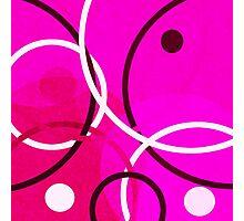 Random Pink Photographic Print