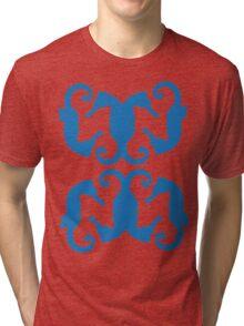 Seahorses ink 3 Tri-blend T-Shirt