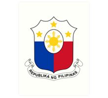 Philippines Coat of Arms Art Print