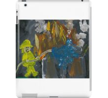 Putting Out Fires Left and Right iPad Case/Skin