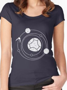 It's quidditch time! Women's Fitted Scoop T-Shirt