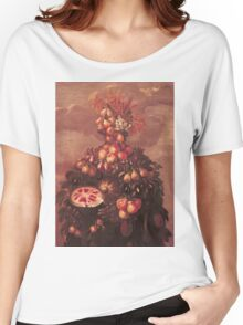 Vintage famous art - Giuseppe Arcimboldi - Summer Women's Relaxed Fit T-Shirt