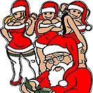 Santa's Summer Job by sensameleon