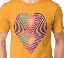 beautiful heart style galaxy Unisex T-Shirt