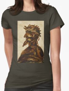 Vintage famous art - Giuseppe Arcimboldi - The Four Elements - Water Womens Fitted T-Shirt